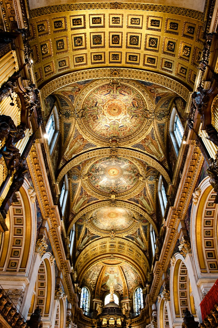 St Paul S Cathedral Inside And Out London Wedding