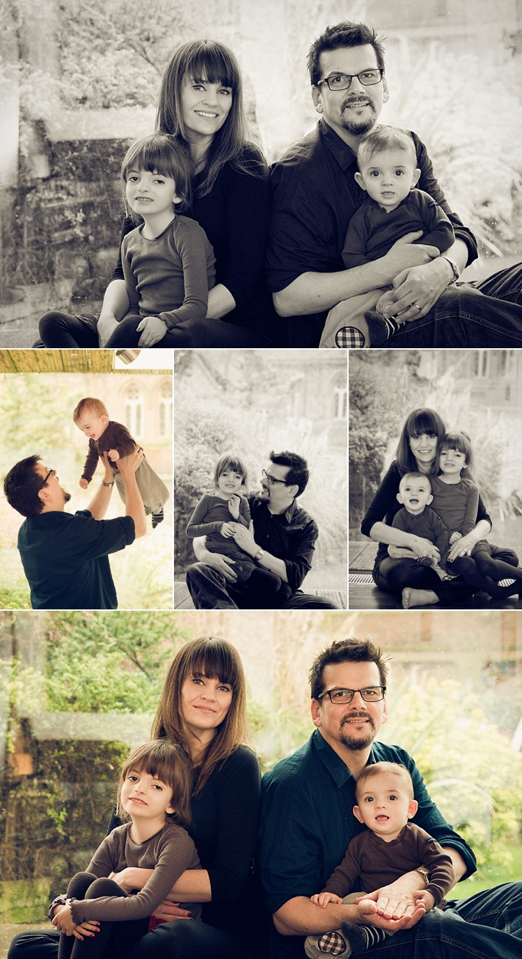 London family photoshoot photo