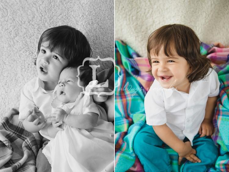 newborn baby sibling london lily sawyer photo