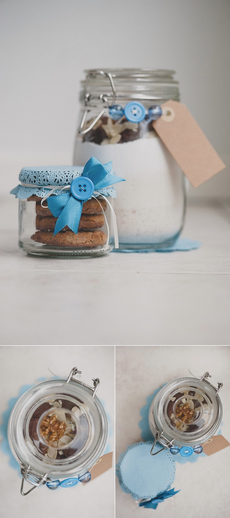 DIY simple easy creative Christmas ideas 5: Christmas cookie mix ...