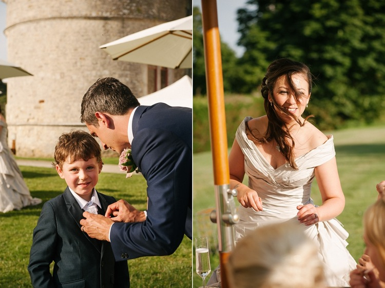 Lulworth Castle Wedding Dorset vintage classic wedding London destination wedding photographer lily sawyer photo