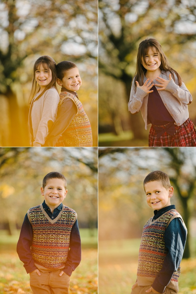 Family Photo Shoot London Family Photographer Siblings Autumnal Photoshoot West