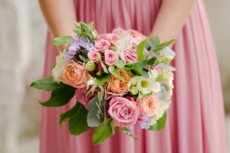 bride-bridesmaid-posy-bouquet-real-wedding-london-photographer.jpg