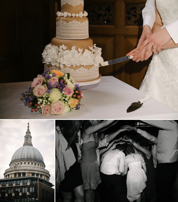 London classic natural wedding st helen's the wren st. pauls' cathedral lily sawyer photo