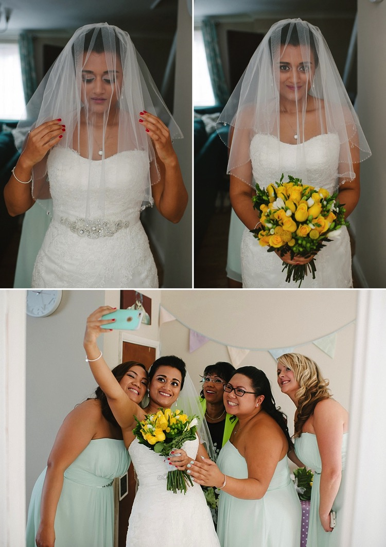 east london wedding canning town bow teal and yellow tiffany gold catholic qmu lily sawyer photo.jpg
