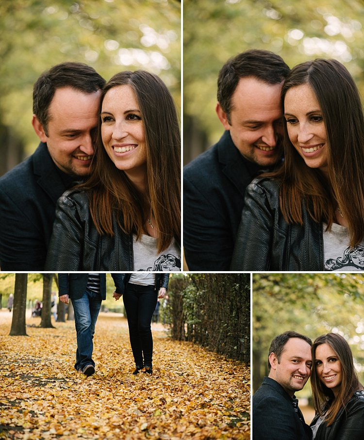 Regents park wedding photographer engagement photogshoot autumnal natural classic lily sawyer photo 0062