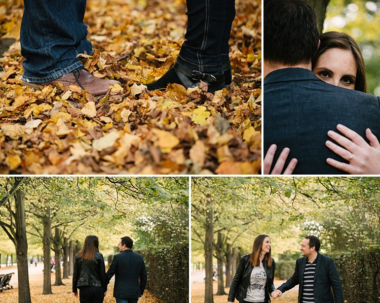 Regents park wedding photographer engagement photogshoot autumnal natural classic lily sawyer photo 0063
