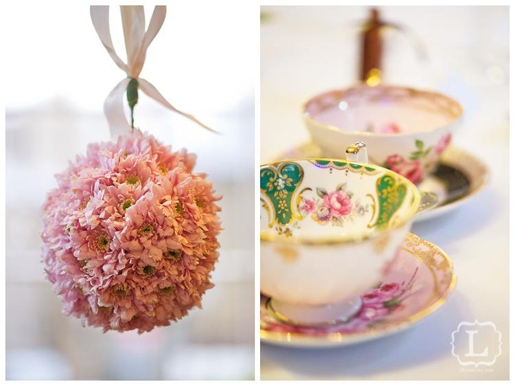 Vintage cup flower