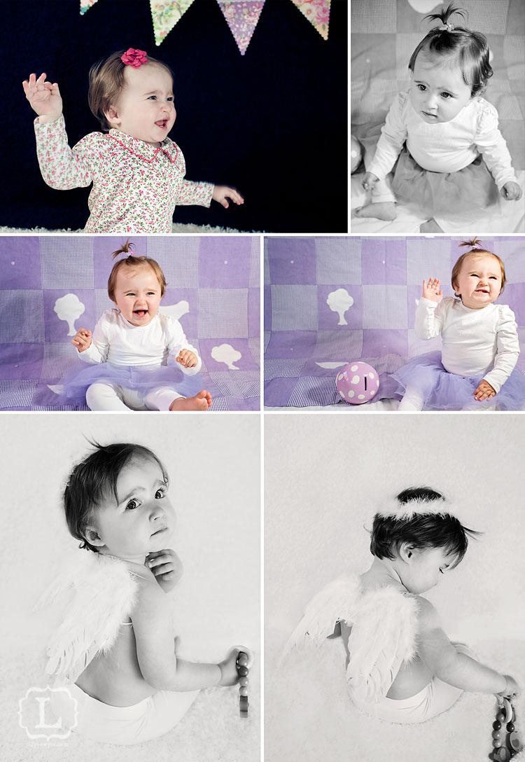 Lina baby portraits