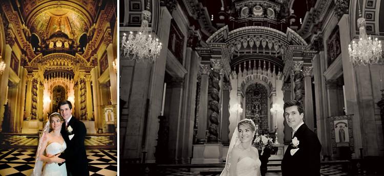 Bride groom church portraits 6 WEB