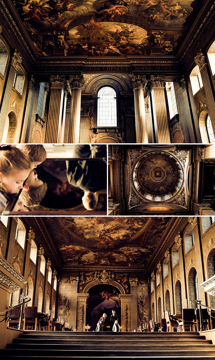 The Painted Hall at the Old Naval College in Greenwich