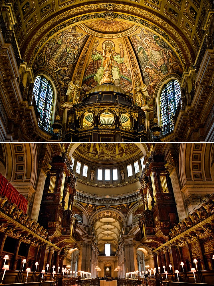 St. Paul's Cathedral - Inside And Out
