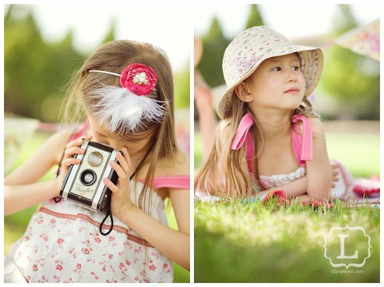 summer vintage pink