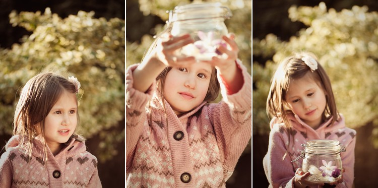 creative children photoshoot