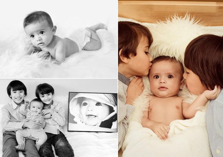 baby boy photoshoot photo