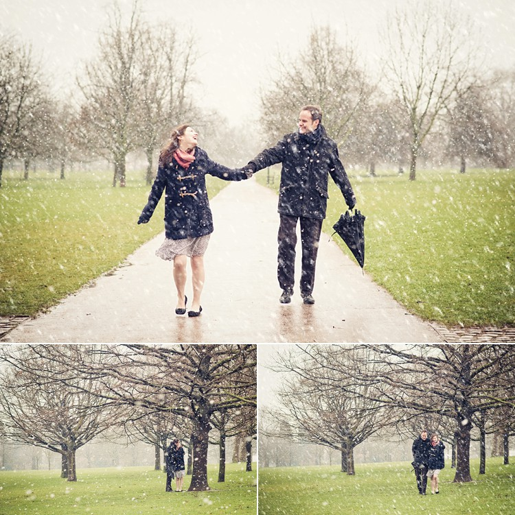 engagement session serpentine london photo