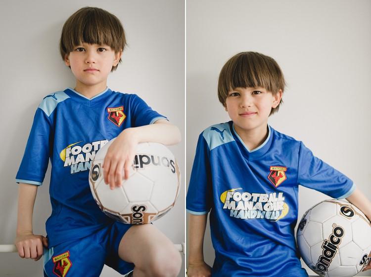 boy natural portraits football london photo