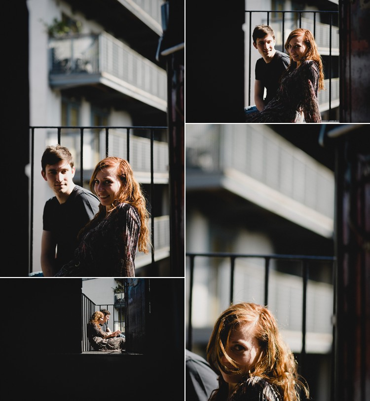 engagement session artistic london hackney photo