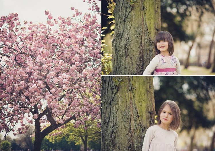 cherry blossoms photoshoot victoria park london photo