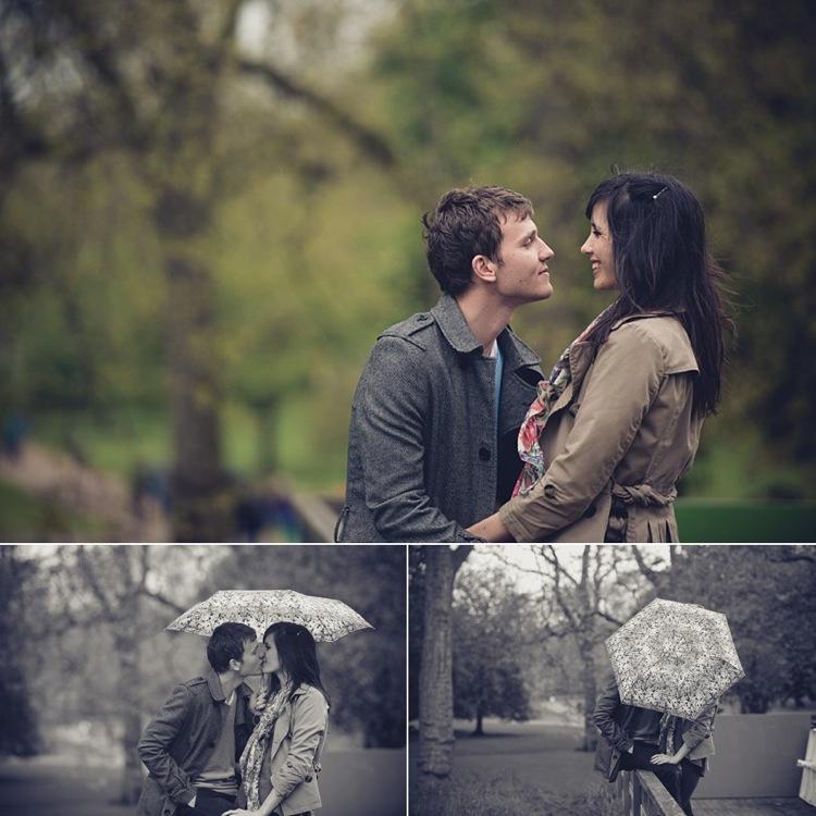 engagement session st. james' park london photo