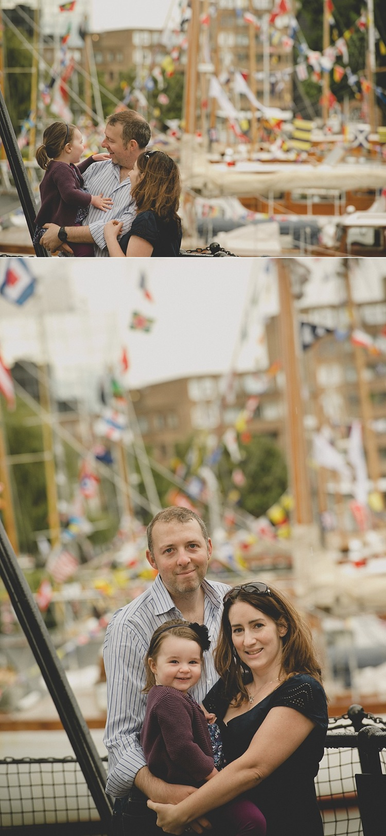 family photoshoot two year old st katharine's docks london lily sawyer photo