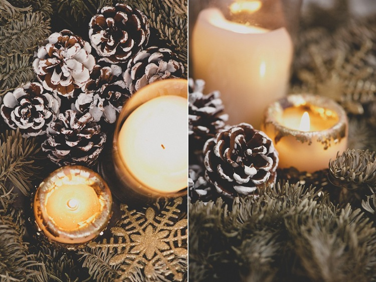 Creative ideas with pine cones christmas lily sawyer photo