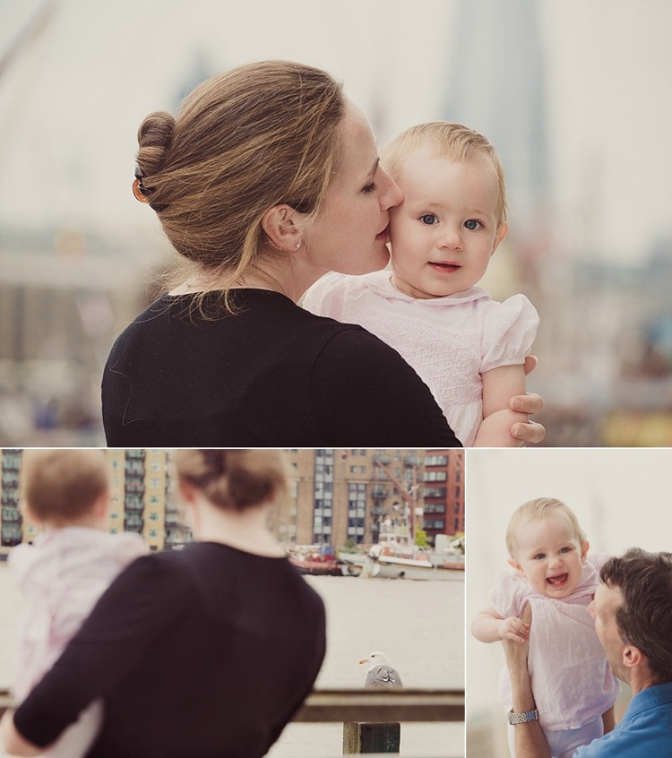 beautiful family portraits tower bridge wapping baby girl photoshoot lily sawyer photo