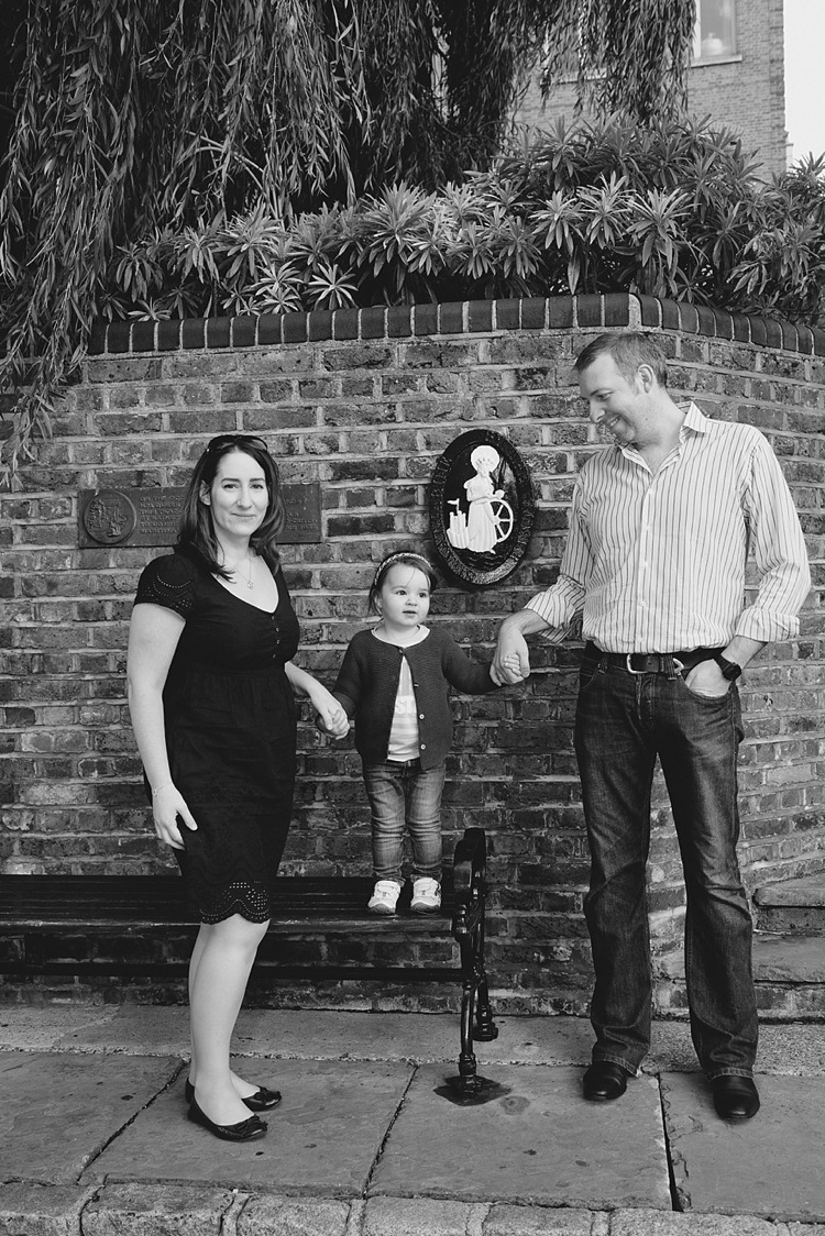 new baby announcement family london st katharine docks lily sawyer photo