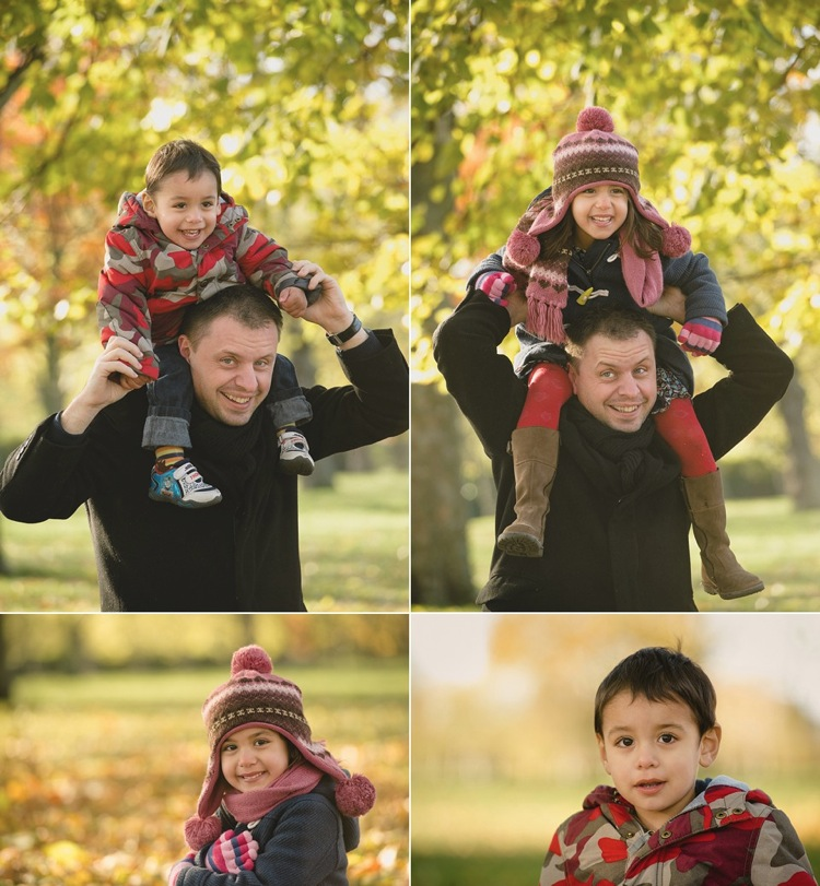 family photoshoot autumn colours west ham park london lily sawyer photo