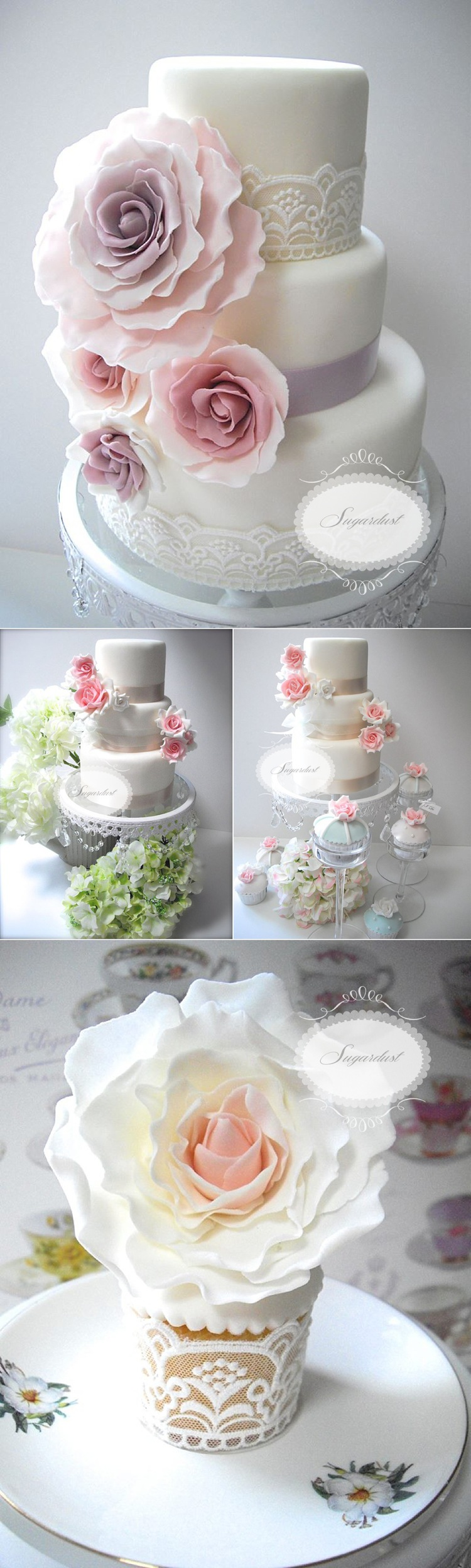 classic tea party roses english style cakes lily sawyer photo