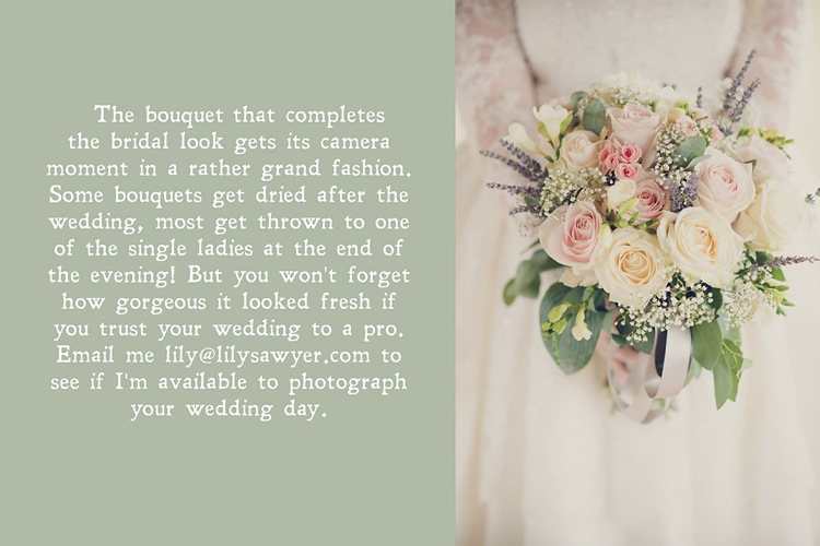 wedding bouquet why trust your wedding to a pro lily sawyer photo