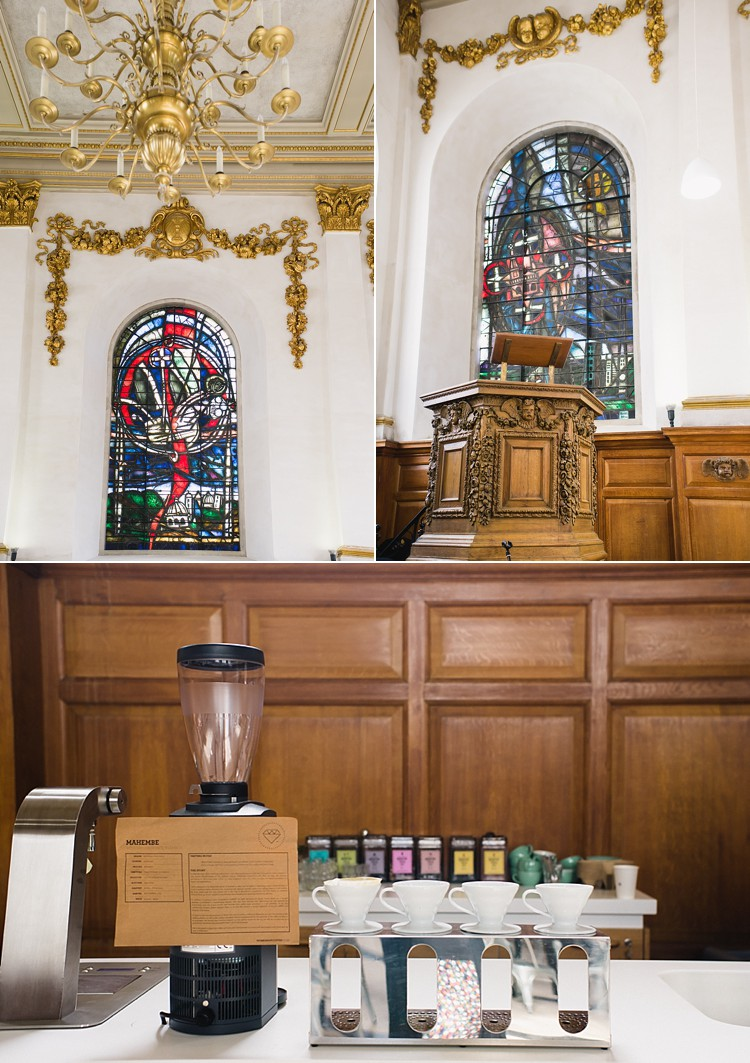 the wren st. nick's talk fleet street talks st. paul's cathedral coffee cafe lily sawyer photo