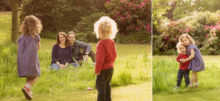 stunning family portraits west ham park golden light studio L london