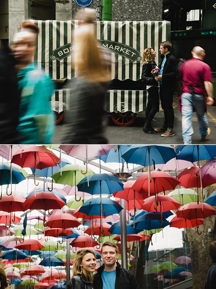 London engagement session The Shard Borough Market City of London Lily Sawyer photo