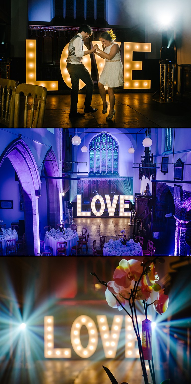 beautiful stunning wedding golden hour easy gourmet catering stoke newwington old st. mary's church london lily sawyer photo