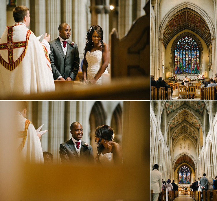 classic vintage wedding St. George's Cathedral Southwark Stoke Newington Town Hall London Lily Sawyer photo