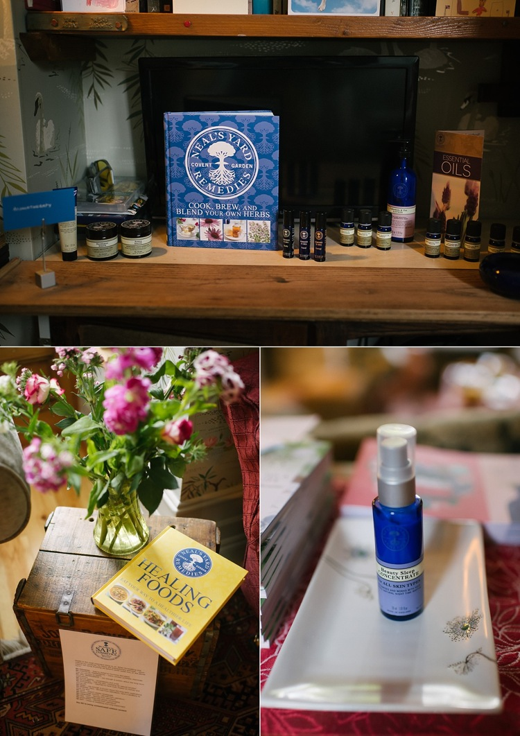 neals yard party organic beauty skincare london lily sawyer photo