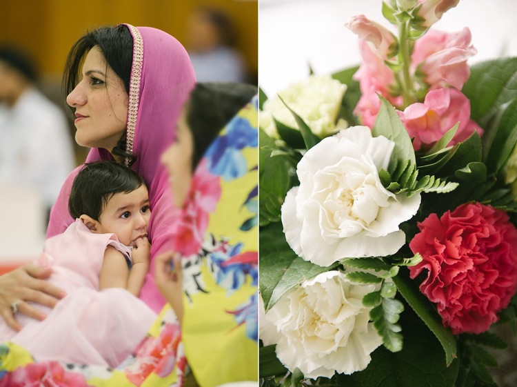 baby m sikh blessing london ealing gurdwara christening family photoshoot west london lily sawyer photo