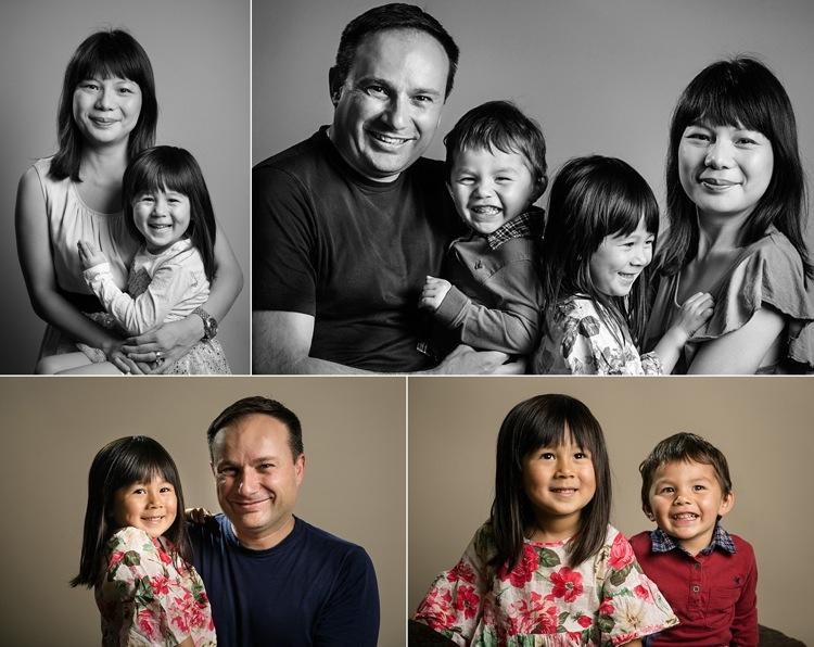 family photoshoot west ham park studio L london photographer lily sawyer photo
