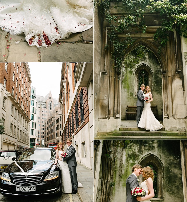 St. Helen's London wedding classic vintage four season's hotel canary wahrf pier st. dunstan's in the east lily sawyer photo.jpg