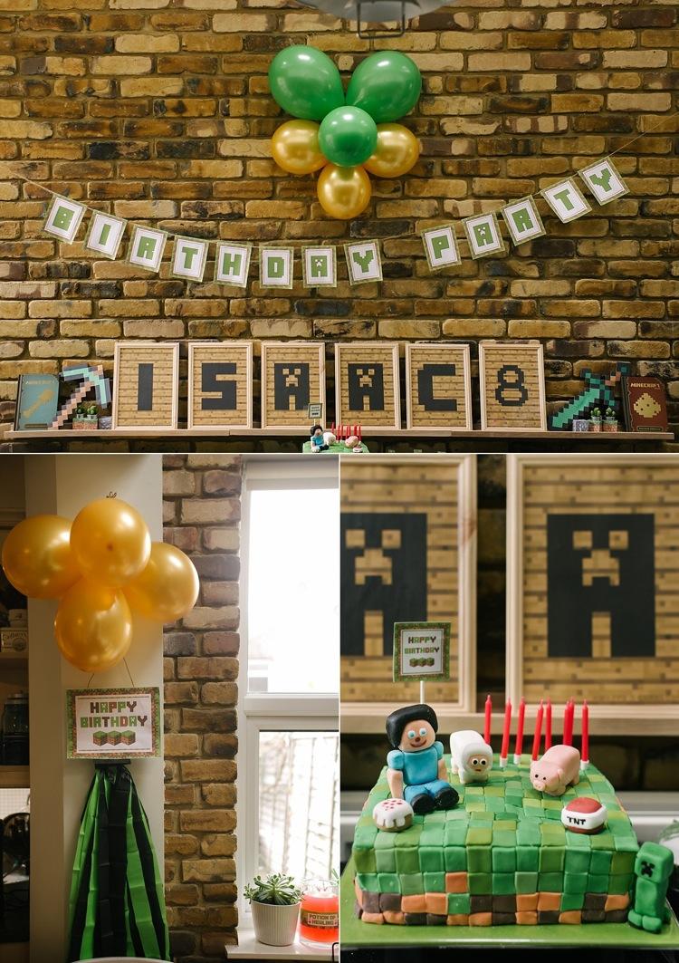 minecraft theme birthday party london photographer lily sawyer photo.jpg