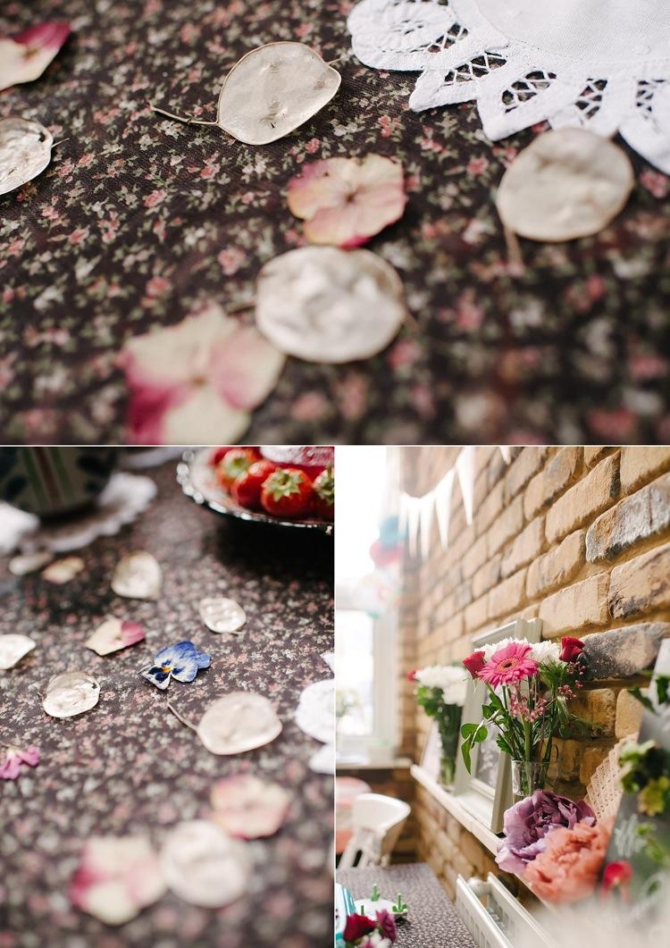 flower pressing vintage tea party birthday diy london family photographer lily sawyer photo