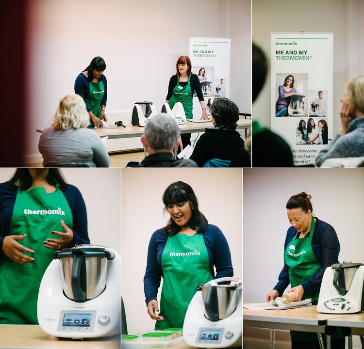 thermomix cooking demonstration london photographer lily sawyer photo