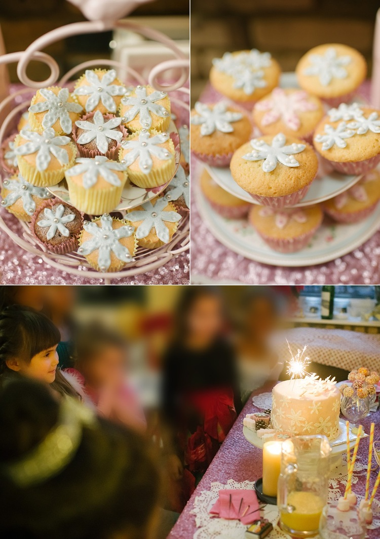 snowflake sparkle birthday party cake christmas diy london lily sawyer photo