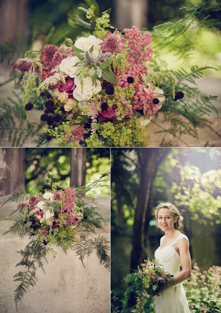 bride bridesmaid cascading bouquet real wedding london photographer.jpg