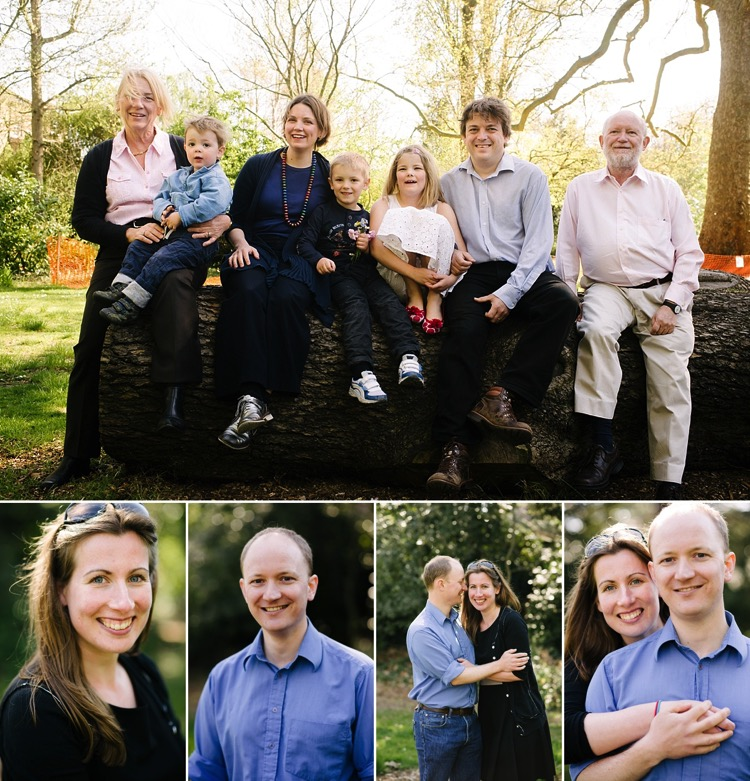 family photoshoot london richmond st margarets 65th birthday portraits photographer lily sawyer photo