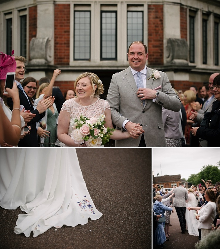 classic london chic wedding dulwich college barry buildings vintage style lily sawyer photo
