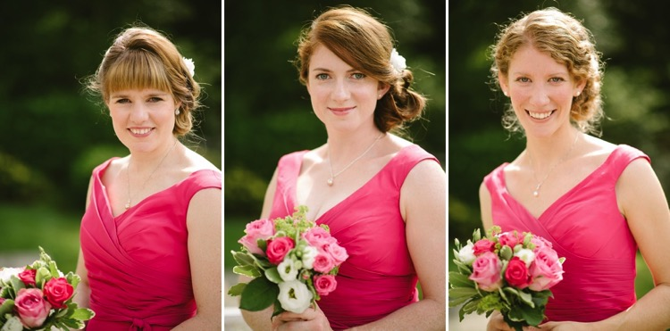 london wedding bagden hall yorkshire wedding classic dreamy romantic fuschia pink english rose lily sawyer photo