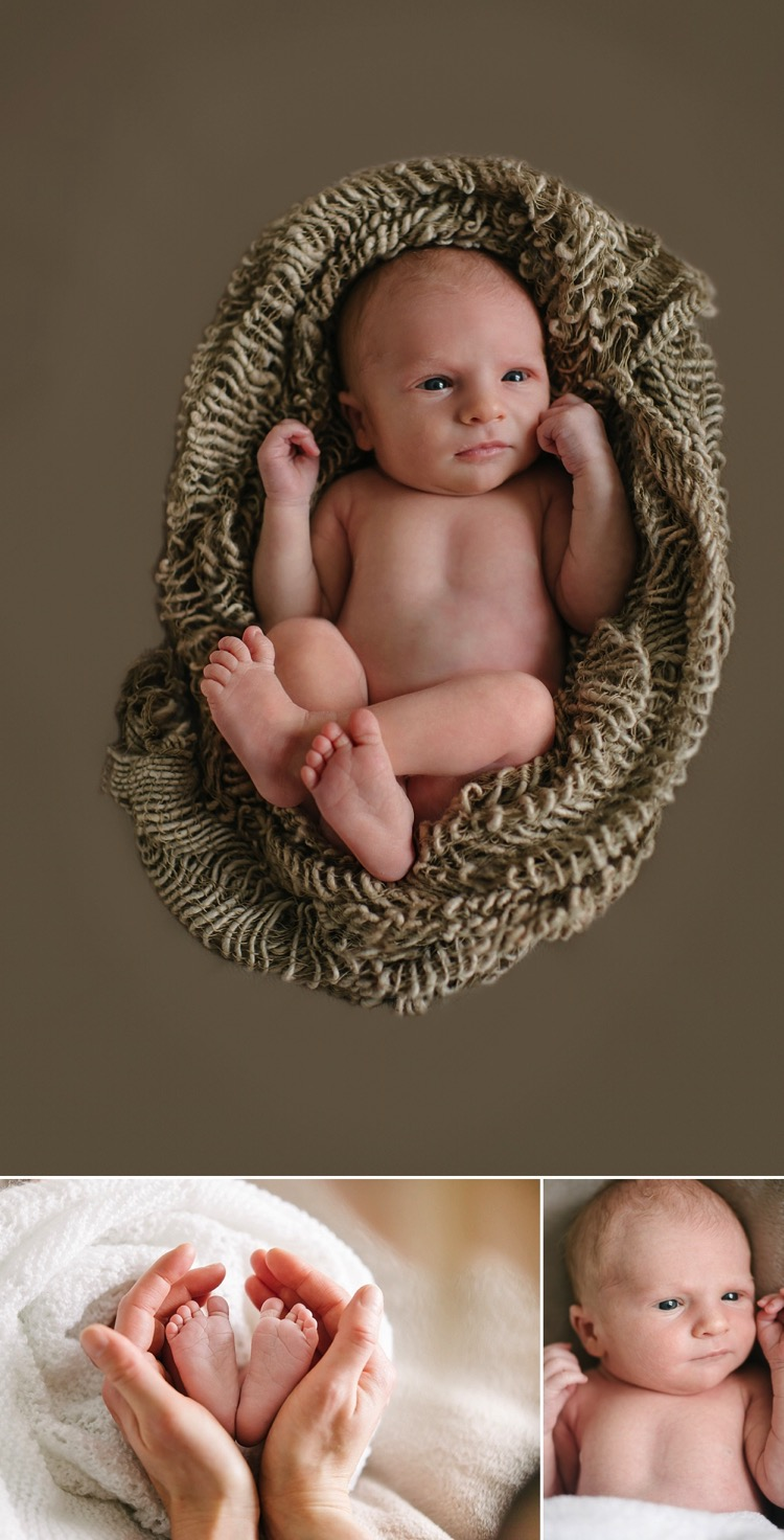 london newborn baby photoshoot 6 days young lifestyle natural posing sleepy baby family lily sawyer photo