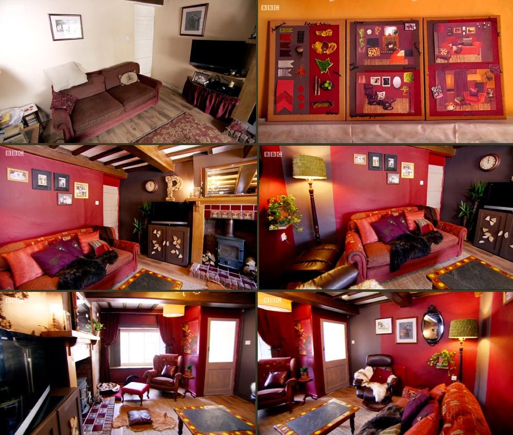 interior-design-moodboards-cottage-living-room-dark-red-brown